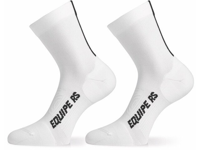 ASSOS RS Chaussettes, holy white